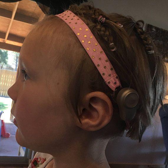 Headband for BAHA hearing aid etsy.com/shop/thebahabowtique