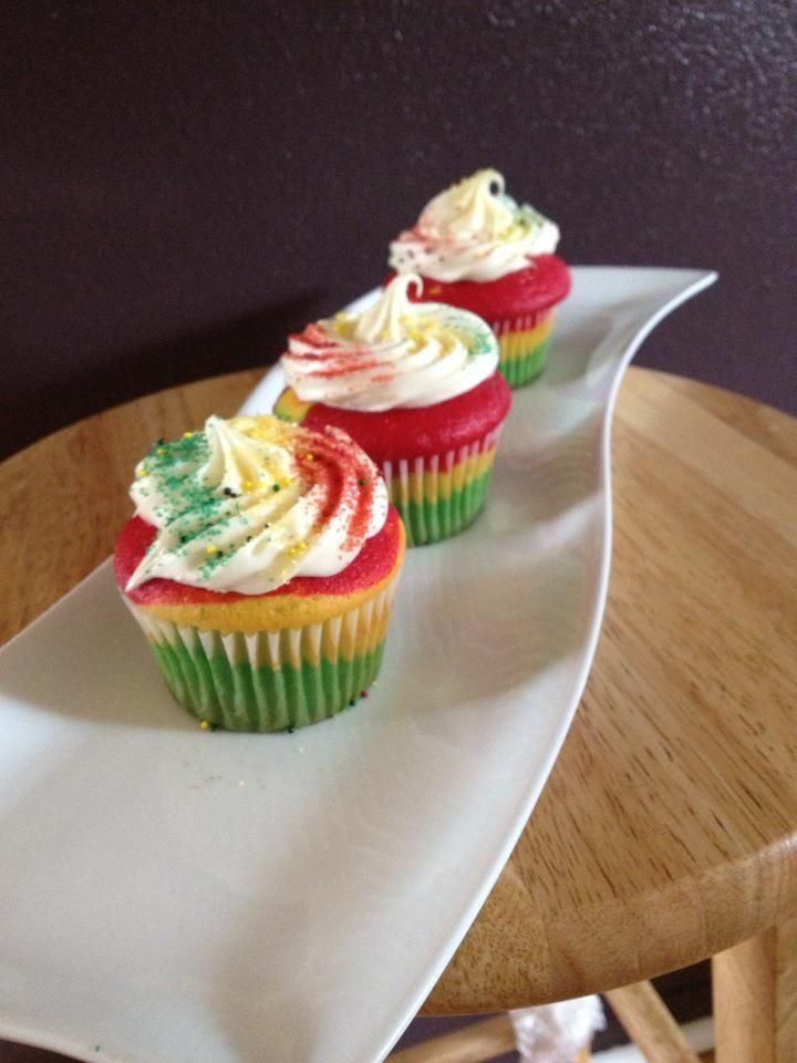 bob marley cupcakes | Uploaded to Pinterest
