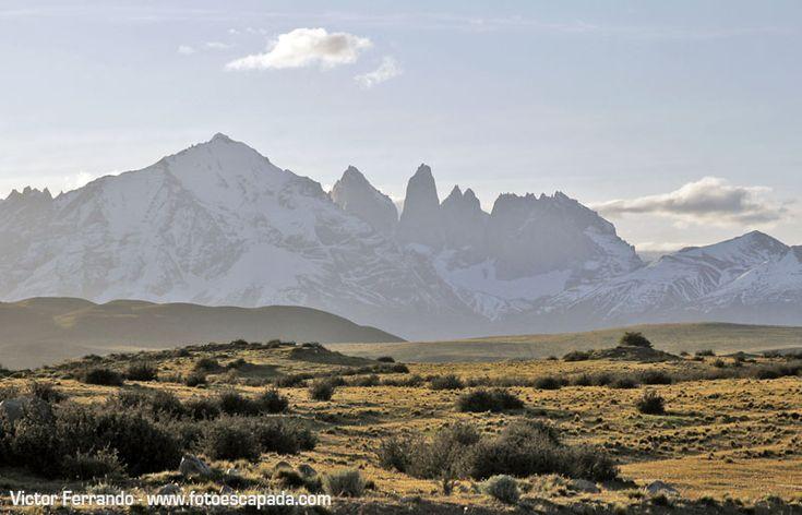 Torres del Paine vistas desde Cerro Guido