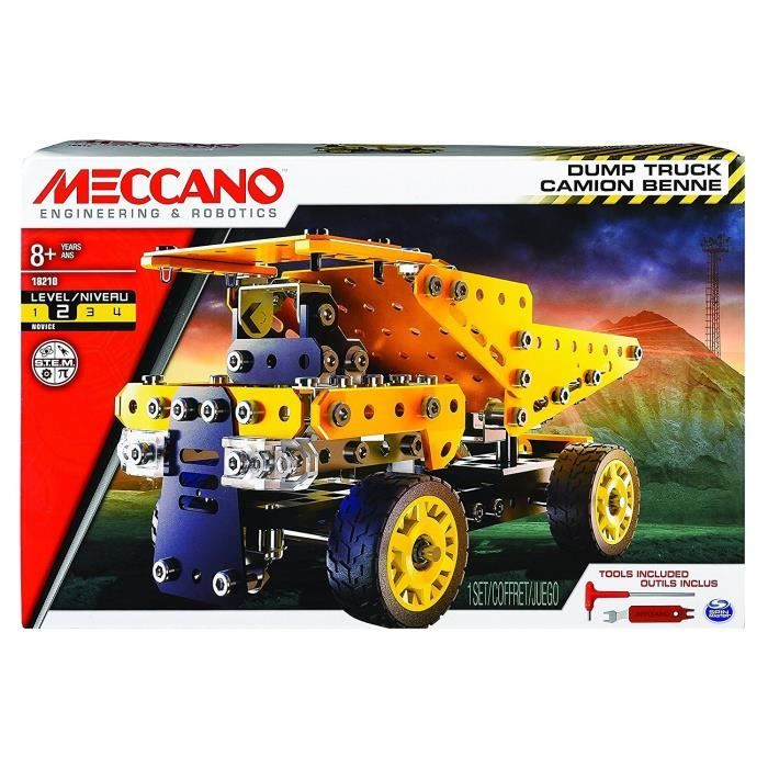 Meccano Camion Benne Theme Chantier Meccano Camions Bennes Benne Et Chantier