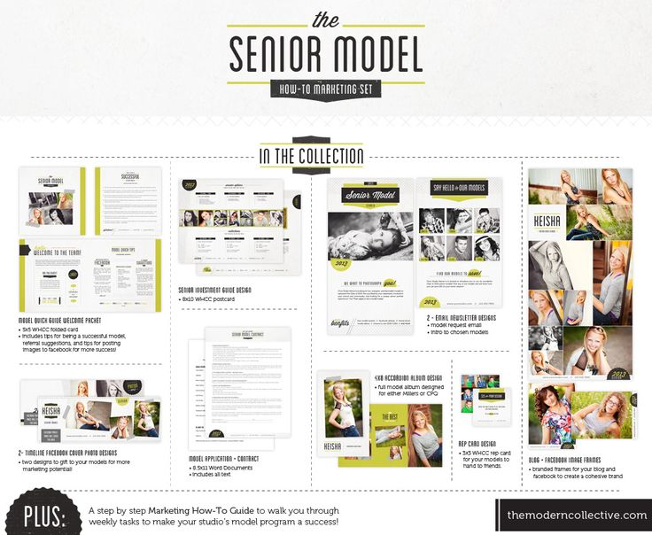 Creating a Successful Senior Model Program // The Senior Model How-To Marketing Set