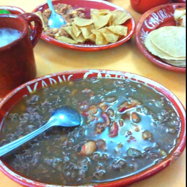 Guiness world of records for fastest food served! Delicious Karne Garibaldi In Guadalajara.
