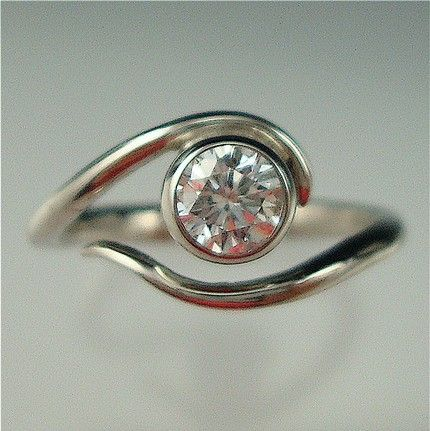 Best 25 Nontraditional engagement rings ideas on Pinterest