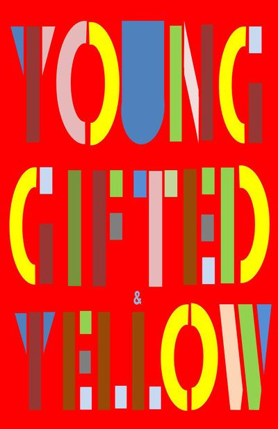 young gifted& yellow Art Print
