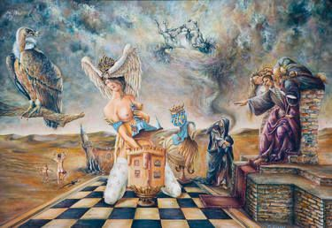 "Saatchi Art Artist Florez Dorian; Painting, ""JAQUE"" #art"