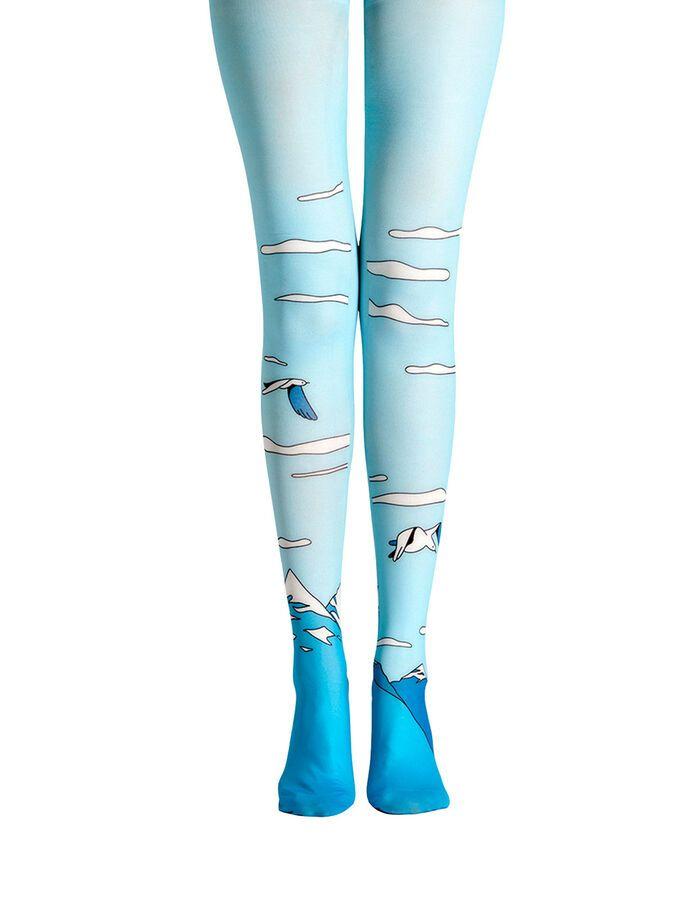 e065d73981ca8 Viken Plan Womens Tights Pantyhose 3D Patterned Tattoo Hosiery Stockings# Womens#Tights#Viken