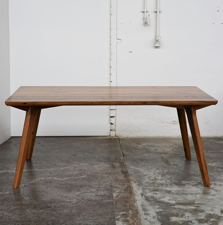 The Jordan table, versatile and timeless furniture piece inspired by Scandinavian design elements. Made from salvaged timber,