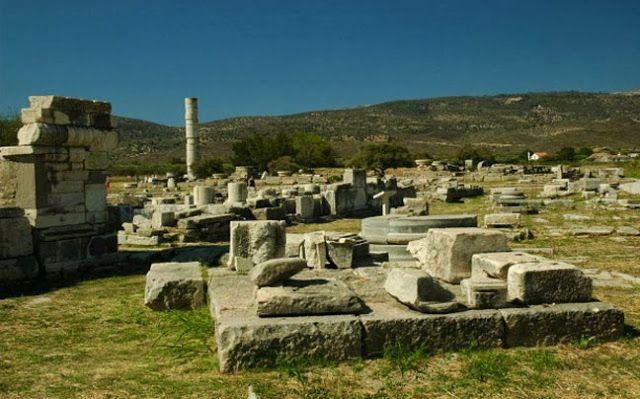 13. Αρχαιολογικός χώρος Ηραίου Σάμου (1992)