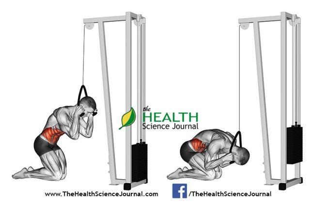 © Sasham | Dreamstime.com - Exercising for bodybuilding. Curling body via block simulator