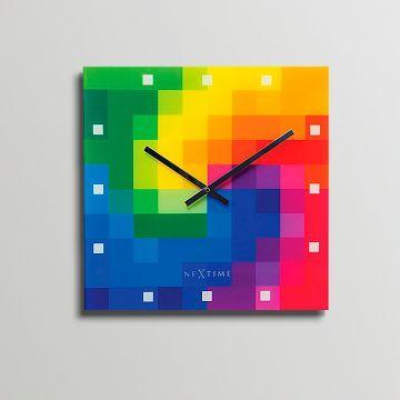 NeXtime Pixel Wall Clock
