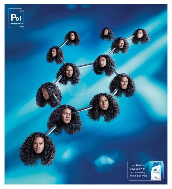 "Troy ""Polamolecule"" for Head & Shoulders - Bizarre Decapitated Head Ad"