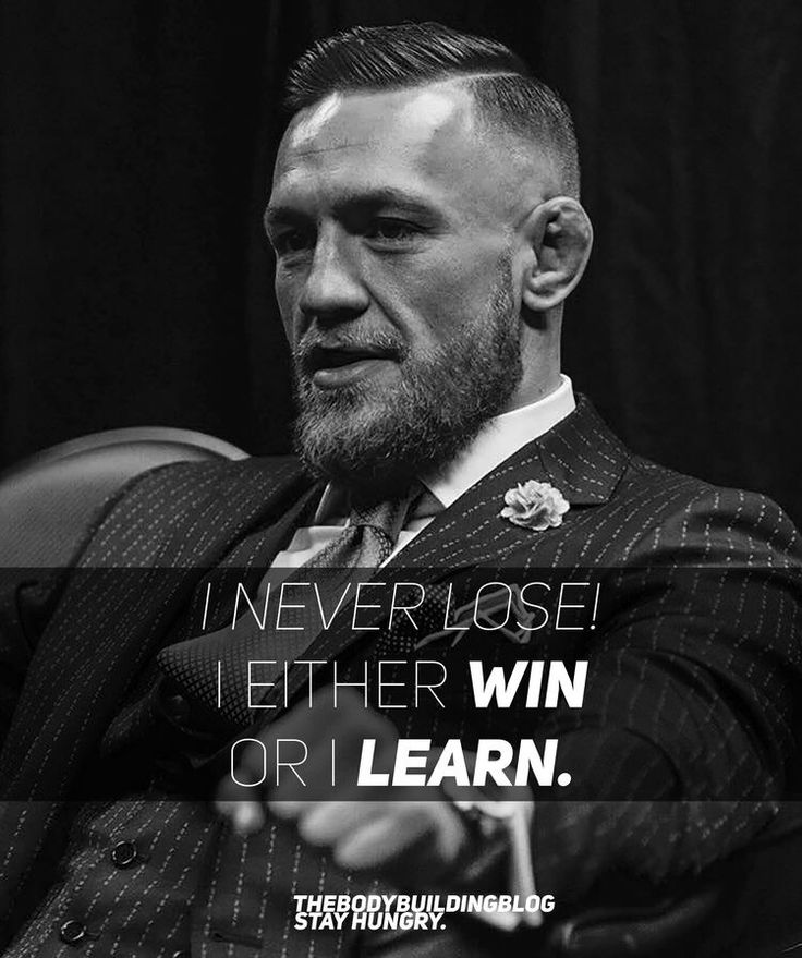Conor McGregor is such a great source of fitness motivation!