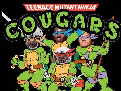 Teenage Mutant Ninja Cougars? BYU's Bronco Mendenhall and Jamaal Williams talk TMNT   Deseret News