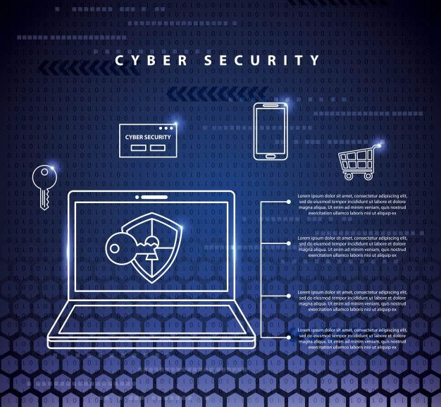 Technology Illustration Information Technology Cyber Security Technology Cyber Security Security Technology