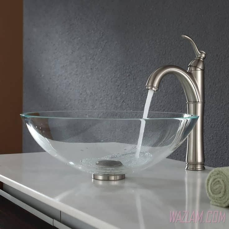 modern bathroom fountain valley reviews%0A Bathroom Sink  u     Faucet Big Kitchen Sink Bathroom Sink Styles Triple Sink  Glass Bathroom Sink