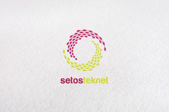 circle, internet, media, letter s by Design Studio Pro on Creative Market