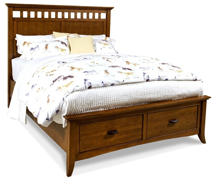 11 best craftsman style beds images on pinterest bed for Craftsman bed