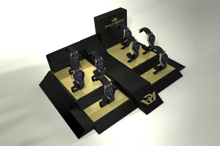 Client: PHILIP WATCH  Product: WINDOW DISPLAY