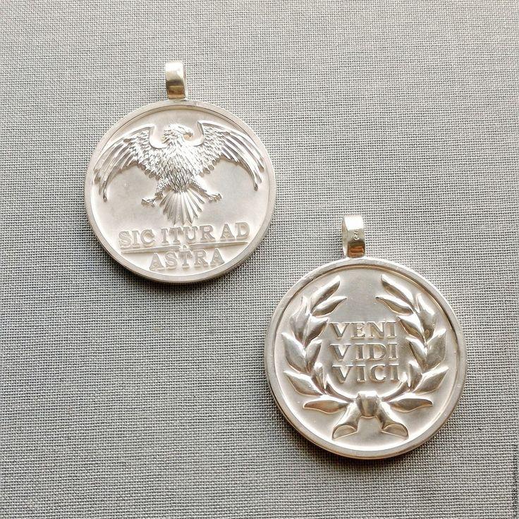 Купить Серебряные медальоны - комбинированный, ювелирные украшения, ювелирные изделия, подвеска, ключ, кулон
