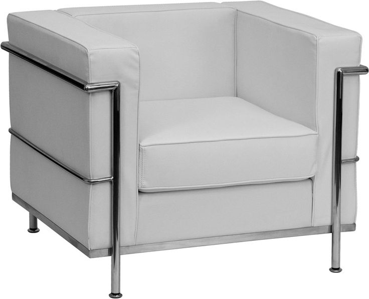 Best White Leather Chair Ideas On Pinterest Leather Bar