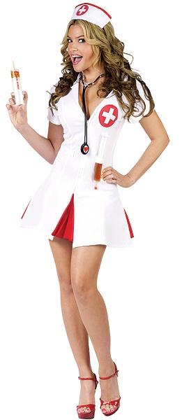 My Nurse Costume for Halloween :)
