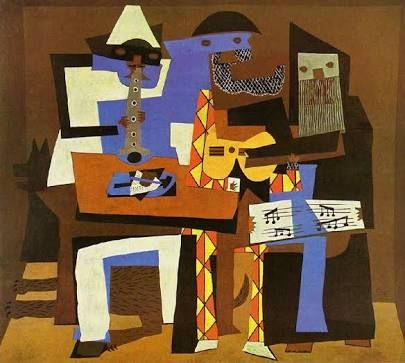 Image result for Three Musicians
