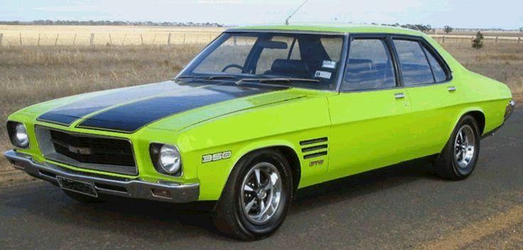 HQ Holden Monaro GTS 4 door - 350 V8