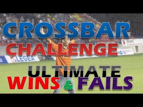 Best of autumn trainings in 2015:  00:01 Ultimate win: How to hit 2x crossbar (top - top) with 1 shot 00:07 Ultimate win: How to hit 2x crossbar (bottom - bottom) with 1 shot 00:14 Ultimate win: How to hit 2x crossbar (top - bottom) with 1 shot 00:23 English goal - 2 in a row (goal after hitting the crossbar) 00:34 Ultimate fail: Hitting right post instead of crossbar :-) 00:43 Mystery trick shot :-) 00:51 Watch the second ball that hits directly the first ball behind the goal :-)