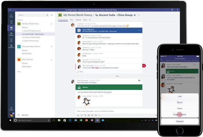 Microsoft Teams will integrate with Cortana add transcription and translation features