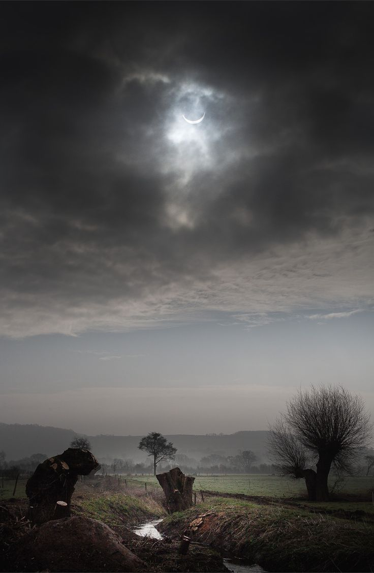 My first Solar Eclipse. The cloud certainly made it more dramatic. Gloucestershire, UK. By Freddie Ardley PhotographyWebsite | Facebook | Instagram | Twitter
