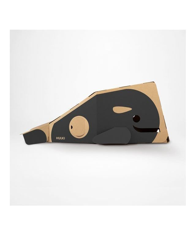 Cardboard Playhouse: Gray Whale designed by HULKI made in Netherlands as part of CHRISTMAS GIFTS FOR KIDS and Furniture and Kids Furniture and Gifts and For kids and Christmas Gifts tagged Designed to make you smile - image 6 on CROWDYHOSUE