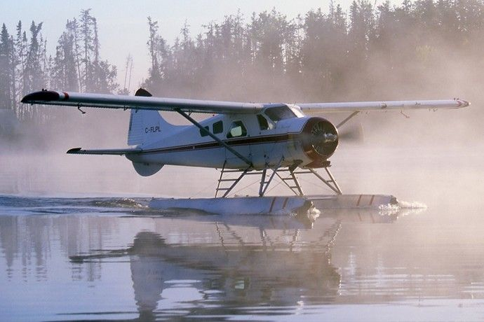 De-Havilland Beaver takes you to your fly-in outpost cabins- Hunting , Fishing vacations Call AirDale Flying Services in Sault Ste. Marie, Ontario, Canada.