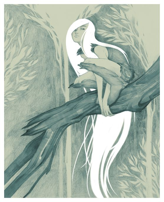 """The Secret of Kells"" by ~theumbrella on deviantART. Gorgeous movie, gorgeous illustration."