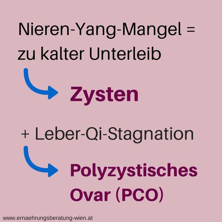 Zysten und PCO: Welche Ernährung hilft nach TCM?