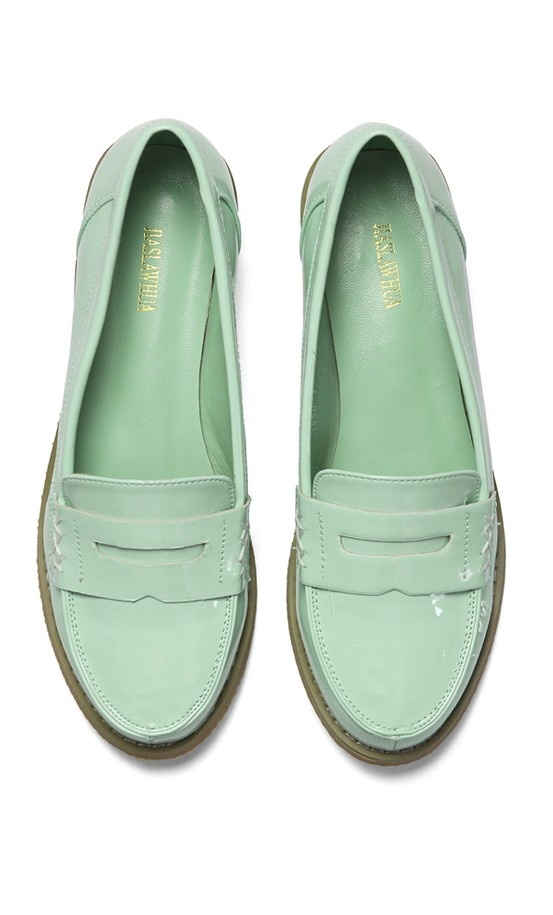 Mint Loafers- on the fence about these