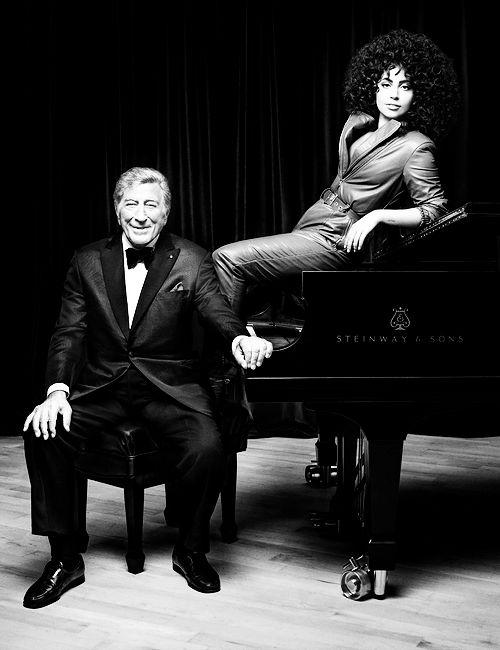 Lady Gaga and Tony Bennett for Parade Magazine.