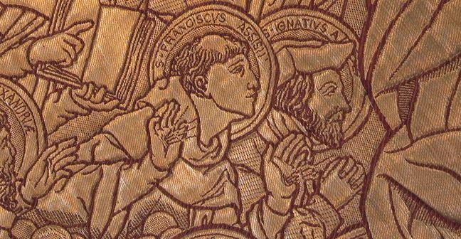 Assisi Szent Ferenc (latinul: Franciscus Assisiensis) vagy ahogy a Ferenc-rendiek nevezték: szerafikus Szent Ferenc(latinul: Franciscus