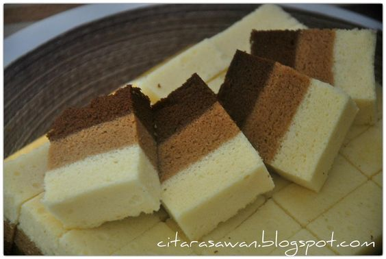 Resepi Kek Kukus Coklat Mocha Putih Telur | Resipi Citarasawan