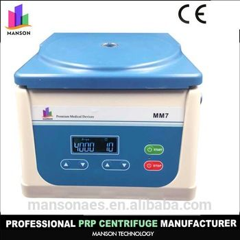 Korea medical products blood plasma centrifuge PRP tube centrifuge manufacturer