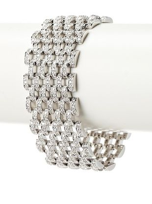67% OFF CZ by Kenneth Jay Lane Honeycomb Art Deco Bracelet