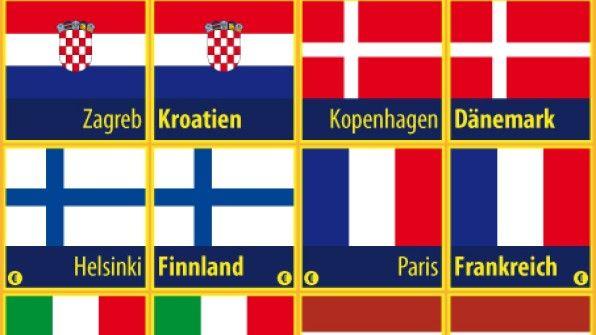 Am Wochenende sind Wahlen in der Europäischen Union. Kennst du alle Länder, die dazu gehören? Hier kannst du das EU-Memory runterladen und a