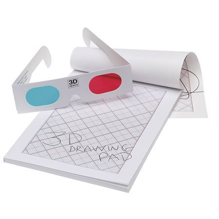 Buy 3D Drawing Pad & Glasses from Mulberry Bush, an online toyshop for traditional and wooden children's toys, gifts and games delivered throughout the UK