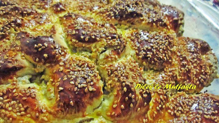 Dilek'le Mutfakta: Tahinli Çember Çörek Tarifi