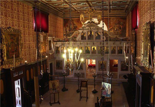 The Byzantine Museum in Corfu