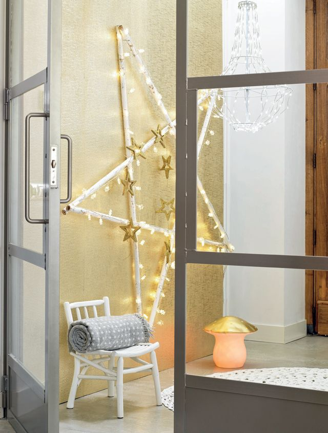 DIY shining star #christmas - Stralende kerstster #kerst #ster www.101woonideeen.nl