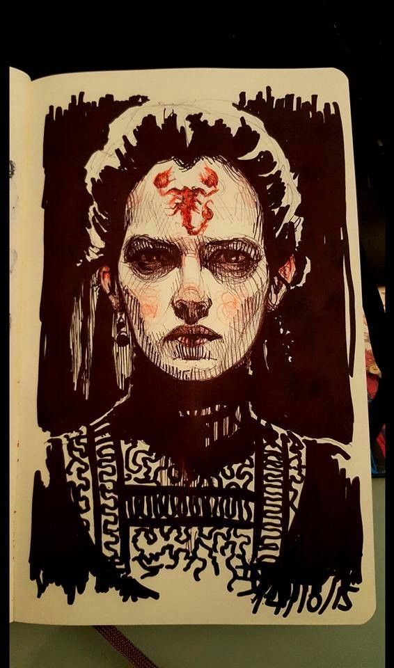 Vanessa Ives, by Rebeca Puebla #PennyDreadful
