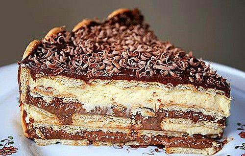 Бразильский торт «Павэ» Pave