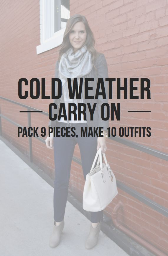 March Free Style I How to Pack a Cold Weather Carry On - greaterthanrubies.net