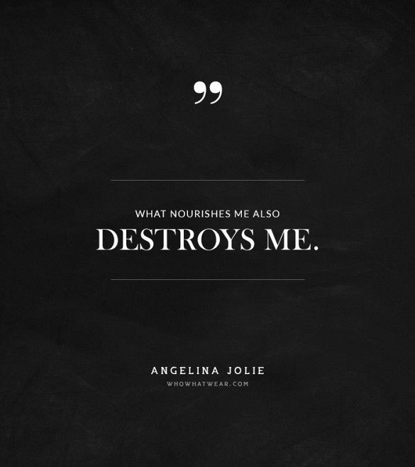 @Alexandra M What Wear - Say What? Angelina Jolie's Most Mind-Blowing Quotes