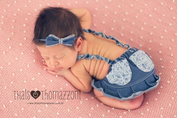 fotografia de newborn, menina